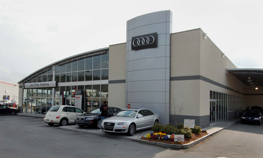 Reliance Interiors Interior Construction Projects Commercial - Audi of atlanta
